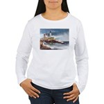 Nubble Light House Women's Long Sleeve T-Shirt