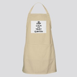 Keep Calm and TRUST Quinten Apron
