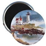 Nubble Light House Magnet