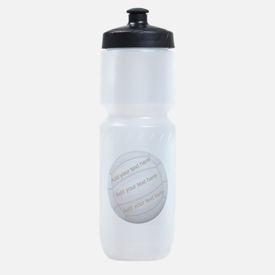 Beach Volleyball Sports Bottle