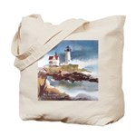 Nubble Light House Tote Bag