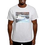 Snowy Road by Elsie Batzell Light T-Shirt