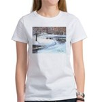 Snowy Road by Elsie Batzell Women's T-Shirt