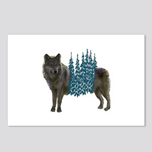 WOLF Postcards (Package of 8)