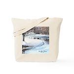 Snowy Road by Elsie Batzell Tote Bag