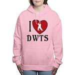I Heart DWTS Women's Hooded Sweatshirt