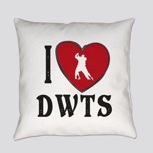I Heart DWTS Everyday Pillow