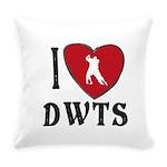 I Heart DWTS Everyday Pillow