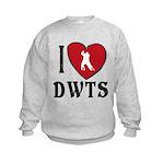 I Heart DWTS Kids Sweatshirt
