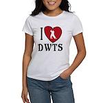 I Heart DWTS Women's Classic White T-Shirt
