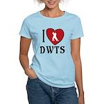 I Heart DWTS Women's Light T-Shirt