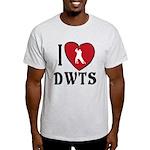 I Heart DWTS Light T-Shirt