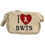 I Heart DWTS Messenger Bag