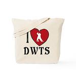 I Heart DWTS Tote Bag