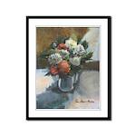 Flowers (#2) by Elsie Batzell Framed Panel Print