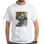 Flowers (#2) by Elsie Batzell White T-Shirt