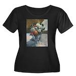Flowers (#2) by Elsie Batzell Women's Plus Size Sc