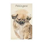 Pekingese Sticker (Rectangle 50 pk)