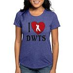 I Heart DWTS Womens Tri-blend T-Shirt
