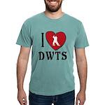 I Heart DWTS Mens Comfort Colors Shirt