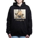 Pekingese Women's Hooded Sweatshirt
