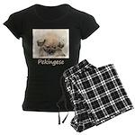 Pekingese Women's Dark Pajamas