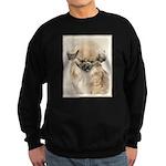 Pekingese Sweatshirt (dark)