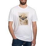 Pekingese Fitted T-Shirt