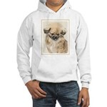 Pekingese Hooded Sweatshirt