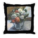 Flowers (#2) by Elsie Batzell Throw Pillow