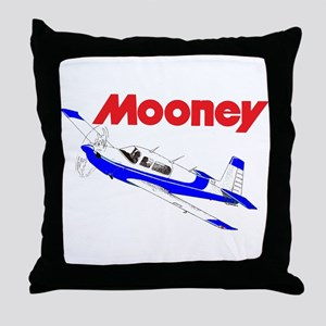 MOONEY Throw Pillow