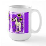 Sunflower Unicorn Large Mug