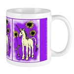 Sunflower Unicorn Mug
