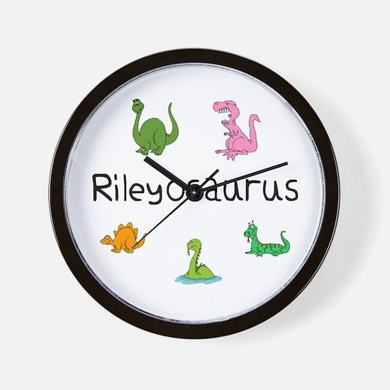 Rileyosaurus Wall Clock