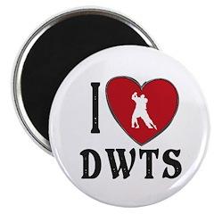 I Heart Dwts Magnet Magnets