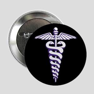 """Phi Delta Epsilon Logo 2.25"""" Button"""