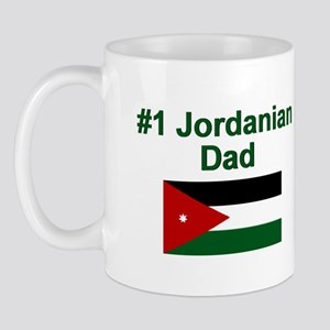 Jordanian #1 Dad Mug