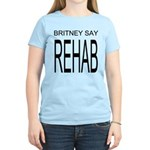 The Original Britney Say Rehab Women's Light Tee