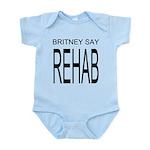 The Original Britney Say Rehab Onesie