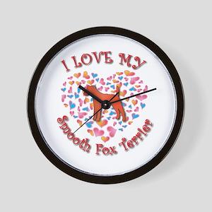 Love Foxie Wall Clock