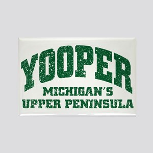 Yooper Rectangle Magnet