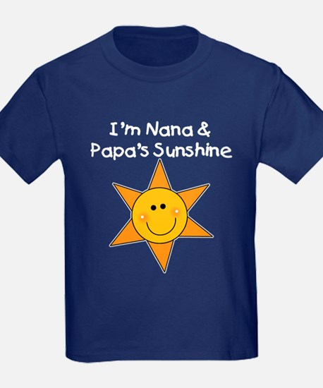 Nana and Papa's Sunshine T