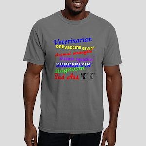Bad Ass Veterinarian Mens Comfort Colors Shirt