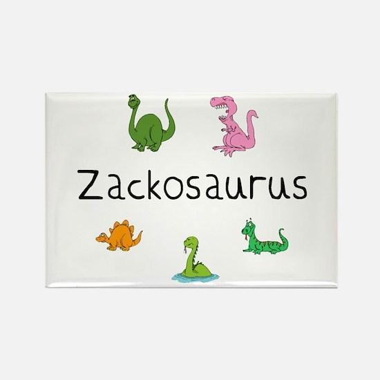 Zackosaurus Rectangle Magnet