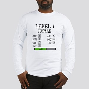 Level 1 Human Long Sleeve T-Shirt