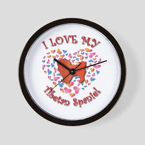 Love Tibbie Wall Clock