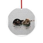 California Sea Otter Ornament (Round)