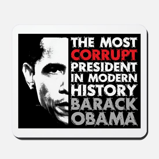 Most Corrupt President Mousepad