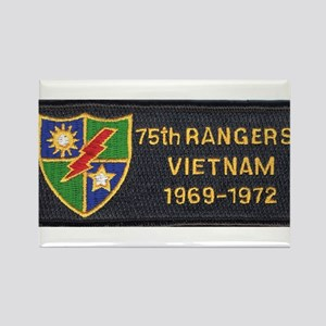 75th Rangers Rectangle Magnet