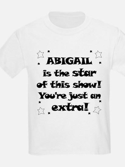 Abbigail is the Star T-Shirt